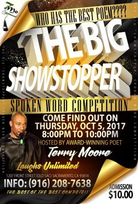 The Big Showstopper: Spoken Word Competition