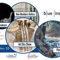 Blue Line Art Gallery: 3rd Saturday Art Reception