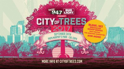 RADIO 94.7 and Bud Light present City of Trees 201...