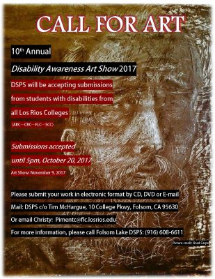 Disability Awareness Art Week Exhibit