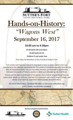 Hands on History: Wagon's West
