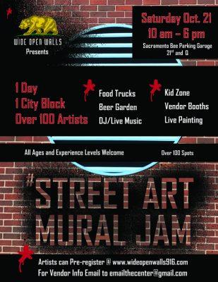 Street Art Mural Jam