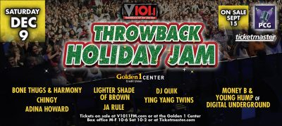 V101 Throwback Holiday Jam