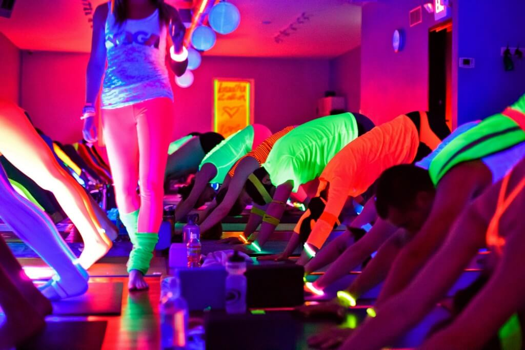 Glow Flow Yoga Party presented by CorePower Yoga | Sports ...
