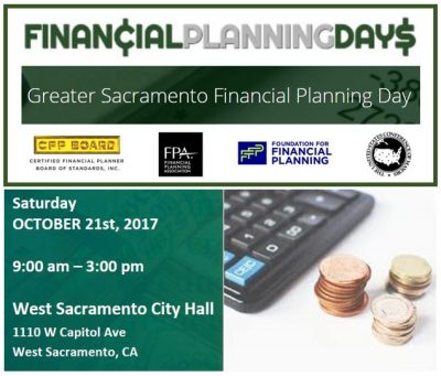 Greater Sacramento Financial Planning Day