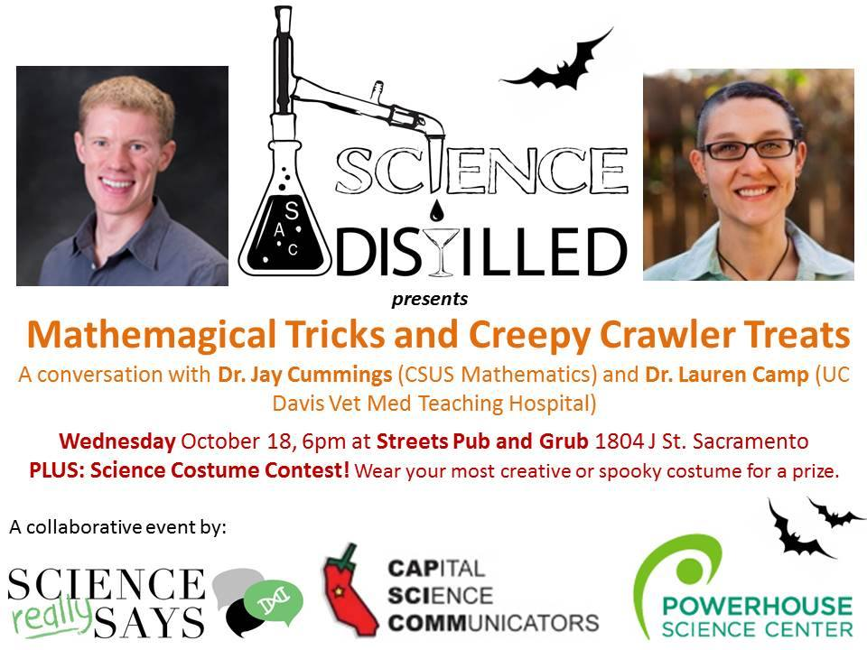 Sacramento Science Distilled presented by Powerhouse Science