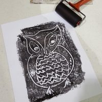 Printmaking Autumn Art Camp