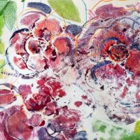 Watercolor Monotype Class