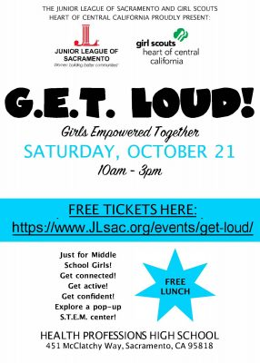 G.E.T. Loud: Girls Empowered Together Leadership R...