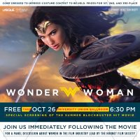 Wonder Woman Film Screening