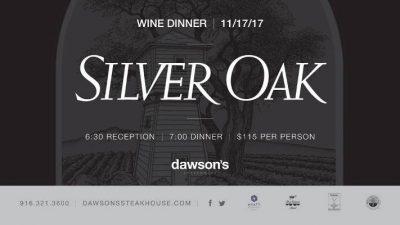 Dawson's Silver Oak Wine Dinner