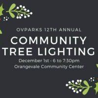 Orangevale Community Tree Lighting