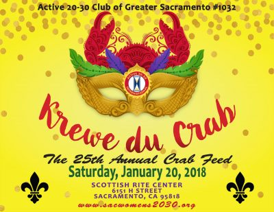 Active 20-30 Club Annual Crab Feed