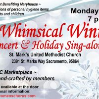 A Whimsical Winter Concert and Holiday Sing Along