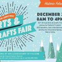 Historic Folsom's 50th Annual Christmas Arts and Crafts Fair