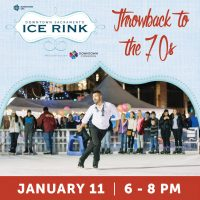 Throwback to the 70s Day (Downtown Sacramento Ice Rink)