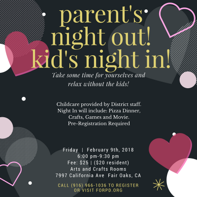 Parent's Night Out, Kid's Night In