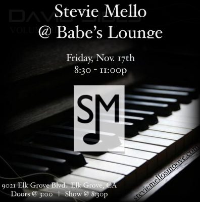 Stevie Mello at Babe's Lounge