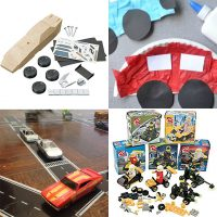 Everything Cars: Building and Art Workshop