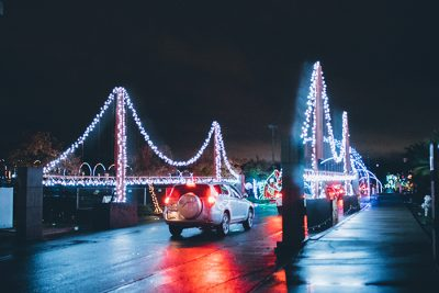 Christmas Lights Drive-Thru presented