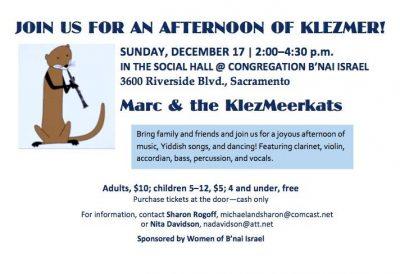 Marc and the KlezMeerkats