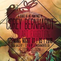 Corey Bernhardt Solo Art Exhibition: 1810 Gallery
