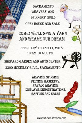 Sacramento Weavers and Spinners Guild: Annual Open...