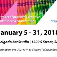 Crayons to Canvas Art Supply Drive
