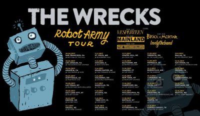 The Wrecks: Robot Army Tour