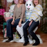 Pictures with the Easter Bunny