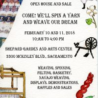Sacramento Weavers and Spinners Guild Open House a...