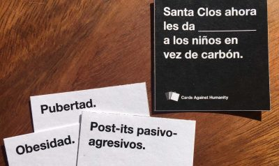 Spanish Game Night: Cards Against Humanity