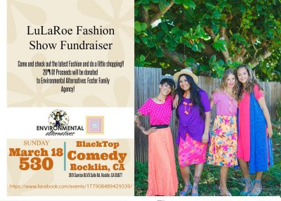 LuLaRoe Fashion Show Fundraiser for Foster Youth