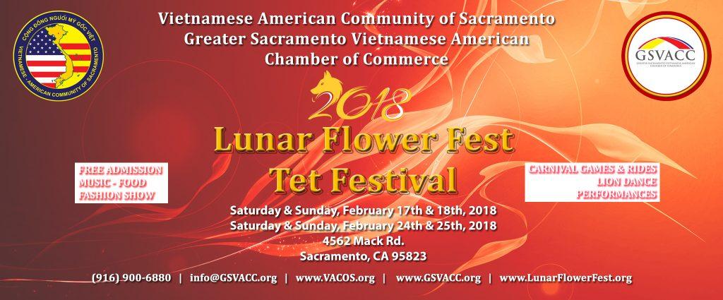 2018 Lunar Flower Fest & Tet Festival