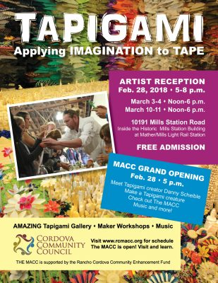 MACC Grand Opening Featuring Tapigami