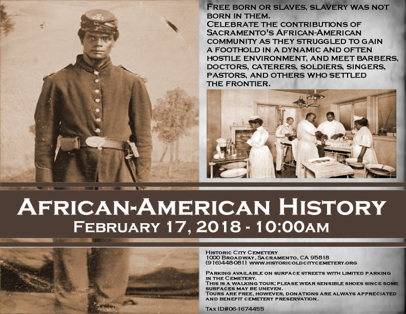 African-American History Tour presented by Old City Cemetery