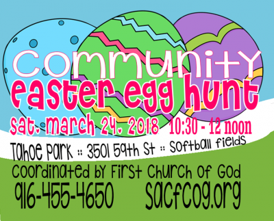 Tahoe Park Community Easter Egg Hunt