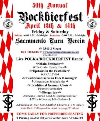Turn Verein's 50th Annual Bockbierfest
