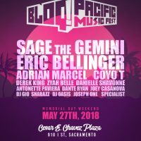 Bloq Pacific Music Festival at Cesar Chavez Plaza