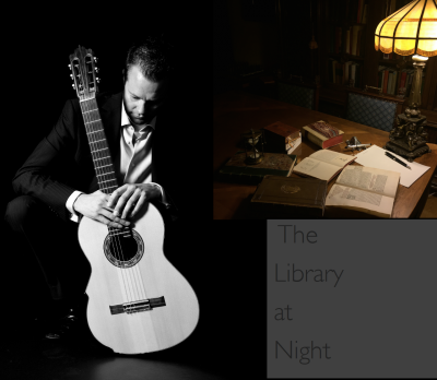 The Library at Night: Colin McAllister Concert