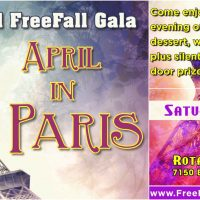 April in Paris: FreeFall Stage Fundraising Gala