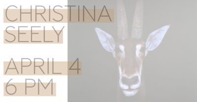 Artist Talk with Christina Seely (Photography Mont...