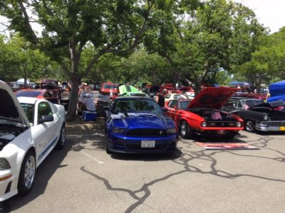 Mustangs and Fords Car Show