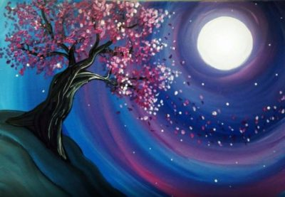 Lust in the Wind Paint Nite Party