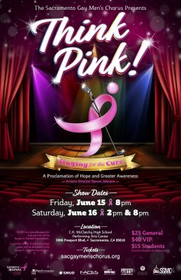 Sacramento Gay Men's Chorus Presents Think Pink