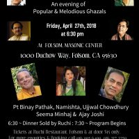 An Evening of Popular and Melodious Ghazals