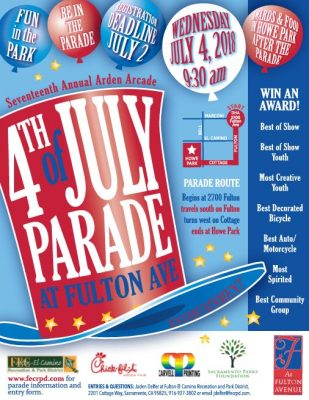 17th Annual Arden Arcade 4th of July Parade