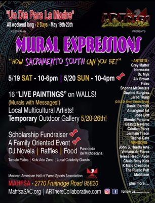 Mural Expressions: Un Dia Para La Madre