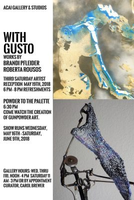 With Gusto Art Show