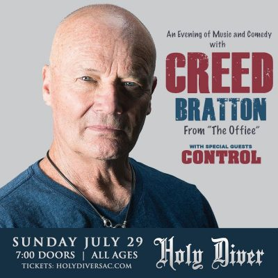 Creed Bratton from The Office